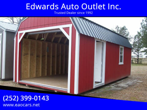 2021 Xx Old Hickory Buildings 12X24 Lofted Barn for sale at Edwards Auto Outlet Inc. in Wilson NC