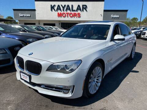2013 BMW 7 Series for sale at KAYALAR MOTORS in Houston TX