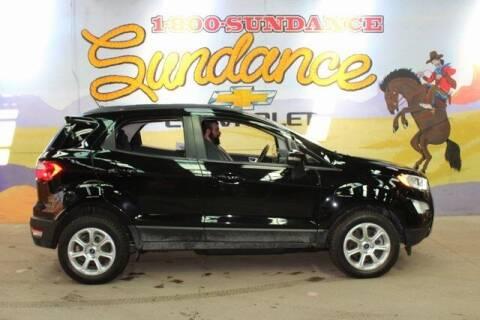 2018 Ford EcoSport for sale at Sundance Chevrolet in Grand Ledge MI