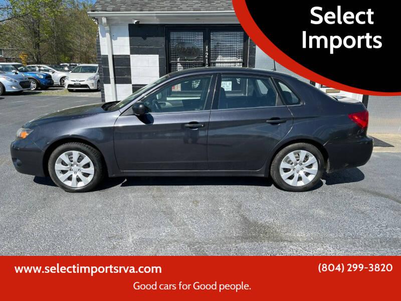 2010 Subaru Impreza for sale at Select Imports in Ashland VA