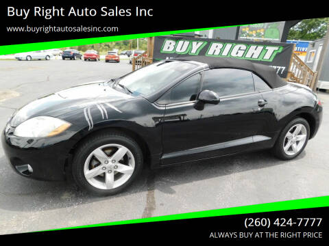 2007 Mitsubishi Eclipse Spyder for sale at Buy Right Auto Sales Inc in Fort Wayne IN