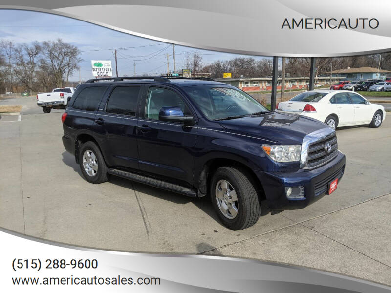 2008 Toyota Sequoia for sale at AmericAuto in Des Moines IA