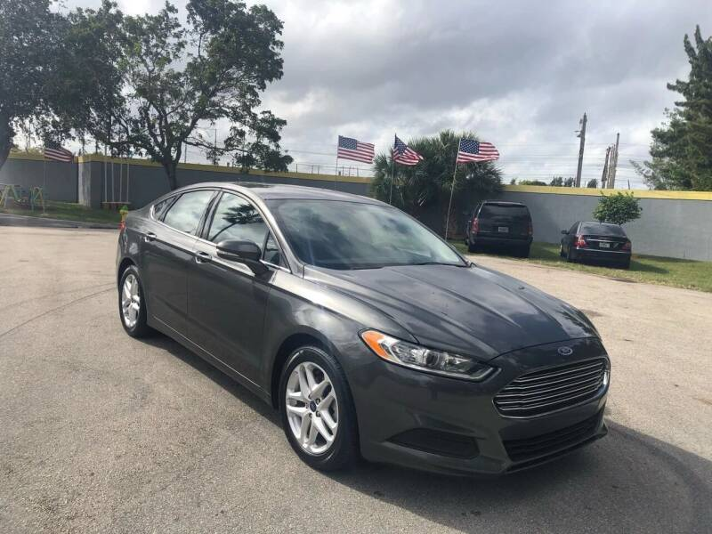 2016 Ford Fusion for sale at CAR UZD in Miami FL