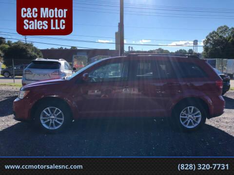 2013 Dodge Journey for sale at C&C Motor Sales LLC in Hudson NC