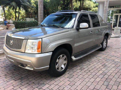 2002 Cadillac Escalade EXT for sale at Florida Cool Cars in Fort Lauderdale FL