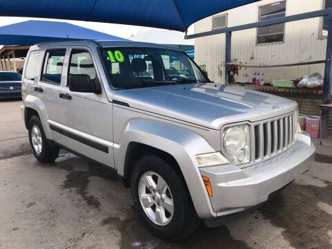 2010 Jeep Liberty for sale at Autos Montes in Socorro TX