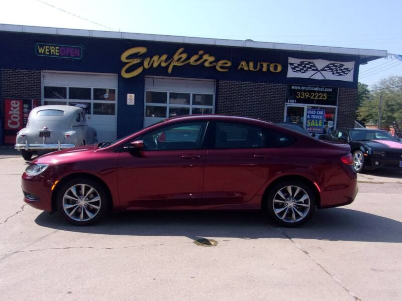 2015 Chrysler 200 for sale at Empire Auto Sales in Sioux Falls SD