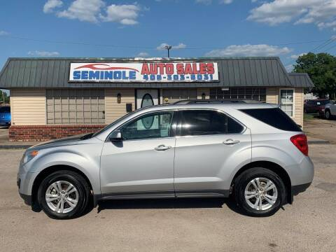 2011 Chevrolet Equinox for sale at Seminole Auto Sales in Seminole OK
