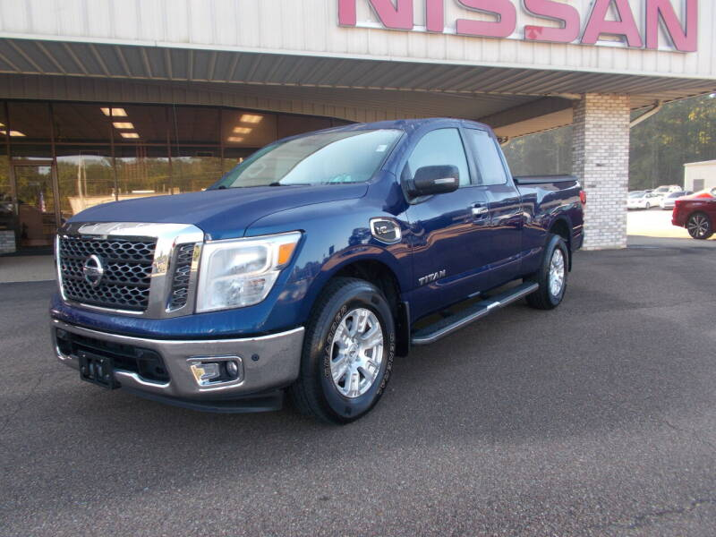 2017 Nissan Titan for sale at Howell Buick GMC Nissan in Summit MS
