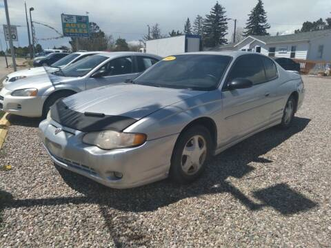 2002 Chevrolet Monte Carlo for sale at DK Super Cars in Cheyenne WY