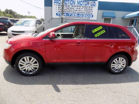 2010 Ford Edge for sale at Pro-Motion Motor Co in Lincolnton NC