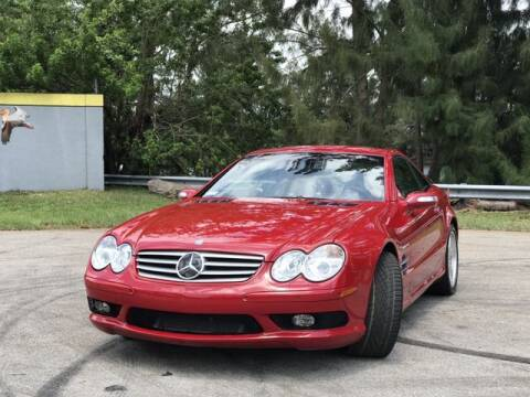 2004 Mercedes-Benz SL-Class for sale at Exclusive Impex Inc in Davie FL