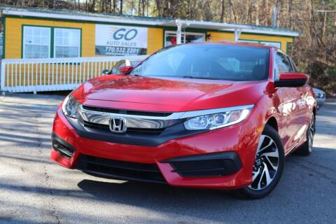 2016 Honda Civic for sale at Go Auto Sales in Gainesville GA