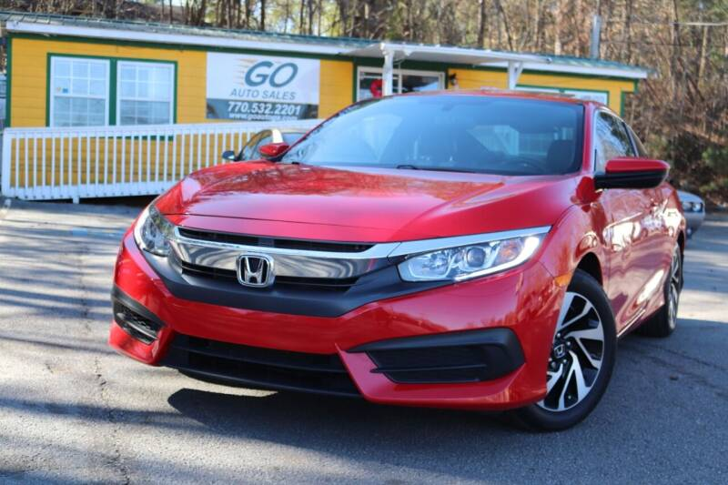 2016 Honda Civic for sale at Go Auto Sales in Gainesville GA