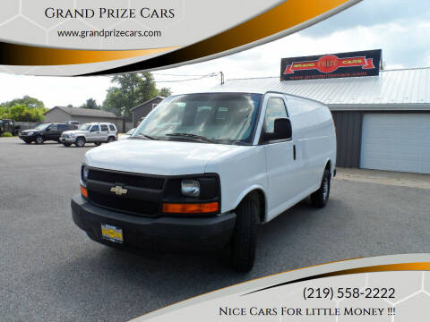 2008 Chevrolet Express Cargo for sale at Grand Prize Cars in Cedar Lake IN
