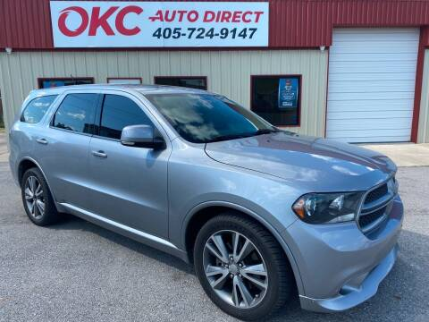 2013 Dodge Durango for sale at OKC Auto Direct in Oklahoma City OK