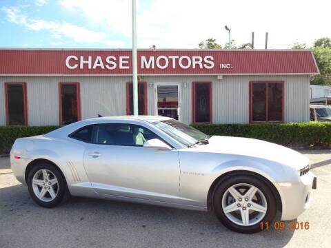 2010 Chevrolet Camaro for sale at Chase Motors Inc in Stafford TX