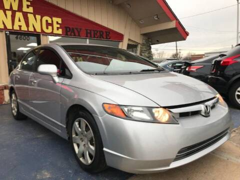 2011 Honda Civic for sale at Caspian Auto Sales in Oklahoma City OK