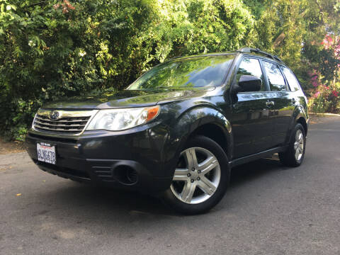 2010 Subaru Forester for sale at Valley Coach Co Sales & Lsng in Van Nuys CA