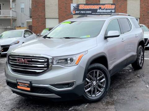2019 GMC Acadia for sale at Somerville Motors in Somerville MA