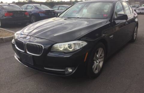 2012 BMW 5 Series for sale at 222 Newbury Motors in Peabody MA