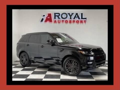 2016 Land Rover Range Rover Sport for sale at Royal AutoSport in Sacramento CA