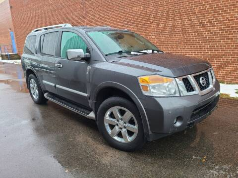 2012 Nissan Armada for sale at Minnesota Auto Sales in Golden Valley MN