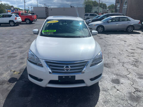 2013 Nissan Sentra for sale at L.A. Automotive Sales in Lackawanna NY