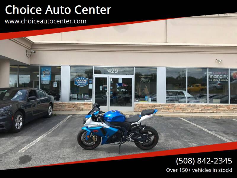 2012 Suzuki GSXR1000 for sale at Choice Auto Center in Shrewsbury MA