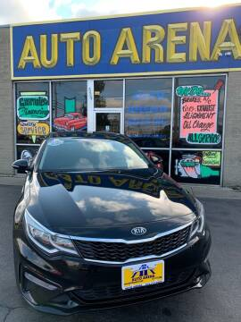 2019 Kia Optima for sale at Auto Arena in Fairfield OH