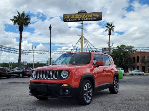 2017 Jeep Renegade for sale at A MOTORS SALES AND FINANCE in San Antonio TX