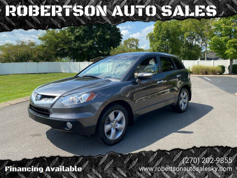 2009 Acura RDX for sale at ROBERTSON AUTO SALES in Bowling Green KY