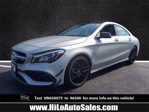 2017 Mercedes-Benz CLA for sale at Hi-Lo Auto Sales in Frederick MD