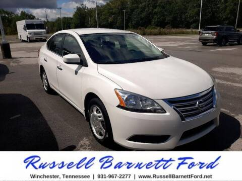 2013 Nissan Sentra for sale at Oskar  Sells Cars in Winchester TN
