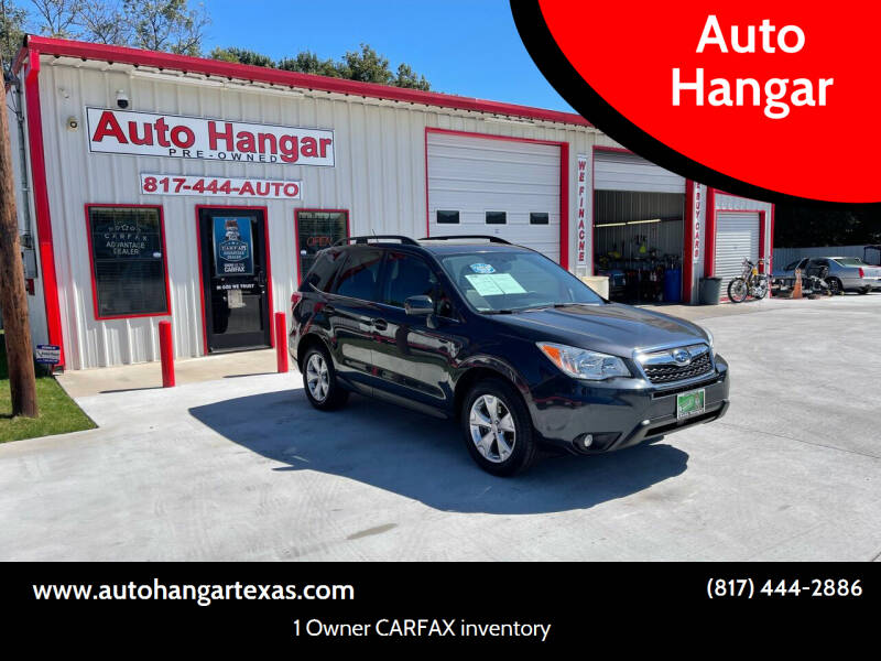 2014 Subaru Forester for sale at Auto Hangar in Azle TX