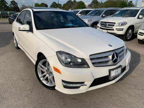 2013 Mercedes-Benz C-Class for sale at KAYALAR MOTORS in Houston TX
