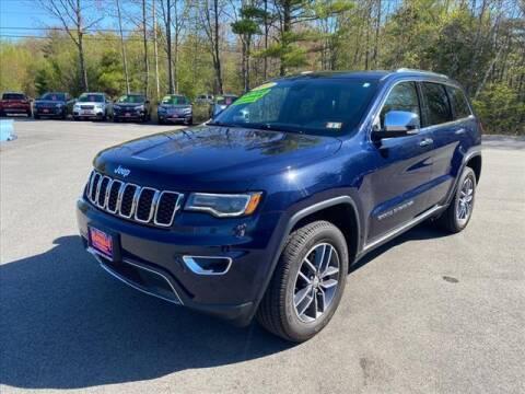 2017 Jeep Grand Cherokee for sale at North Berwick Auto Center in Berwick ME