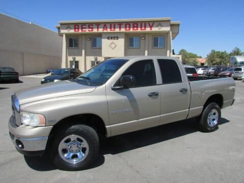 2005 Dodge Ram Pickup 1500 for sale at Best Auto Buy in Las Vegas NV