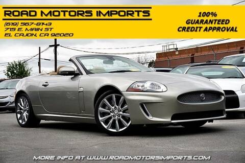 2010 Jaguar XK for sale at Road Motors Imports in El Cajon CA