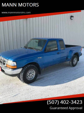 1999 Ford Ranger for sale at MANN MOTORS in Albert Lea MN