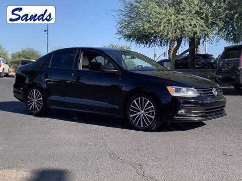 2016 Volkswagen Jetta for sale at Sands Chevrolet in Surprise AZ