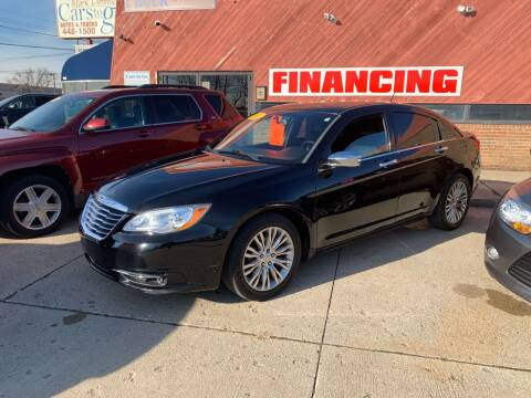 2013 Chrysler 200 for sale at Cars To Go in Lafayette IN