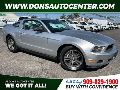 2011 Ford Mustang for sale at Dons Auto Center in Fontana CA