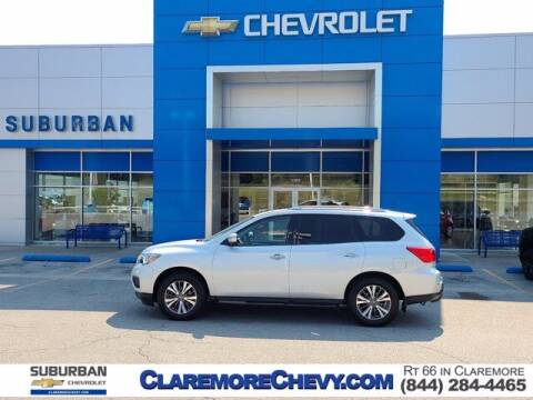 2018 Nissan Pathfinder for sale at Suburban Chevrolet in Claremore OK