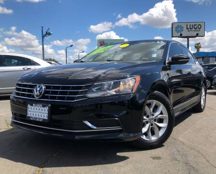 2016 Volkswagen Passat for sale at LUGO AUTO GROUP in Sacramento CA