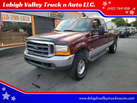 2000 Ford F-250 Super Duty for sale at Lehigh Valley Truck n Auto LLC. in Schnecksville PA