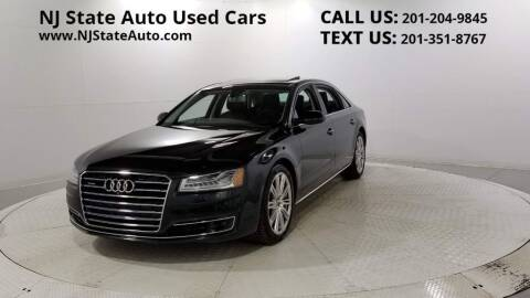 2015 Audi A8 L for sale at NJ State Auto Auction in Jersey City NJ