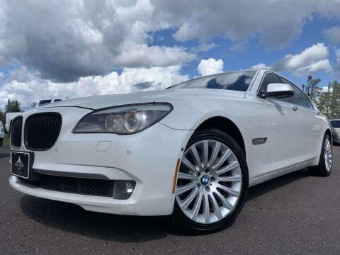 2011 BMW 7 Series for sale at Autobahn Sales And Service LLC in Hermantown MN