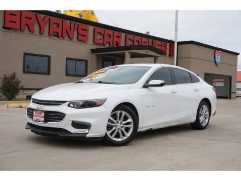 2018 Chevrolet Malibu for sale at Bryans Car Corner in Chickasha OK