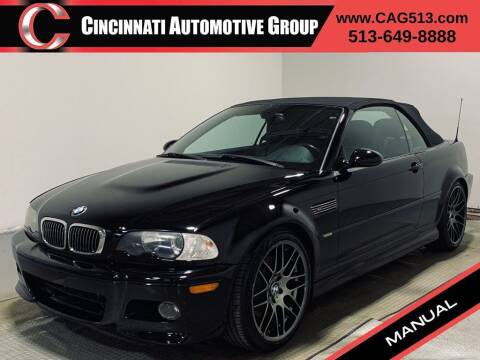 2001 BMW M3 for sale at Cincinnati Automotive Group in Lebanon OH